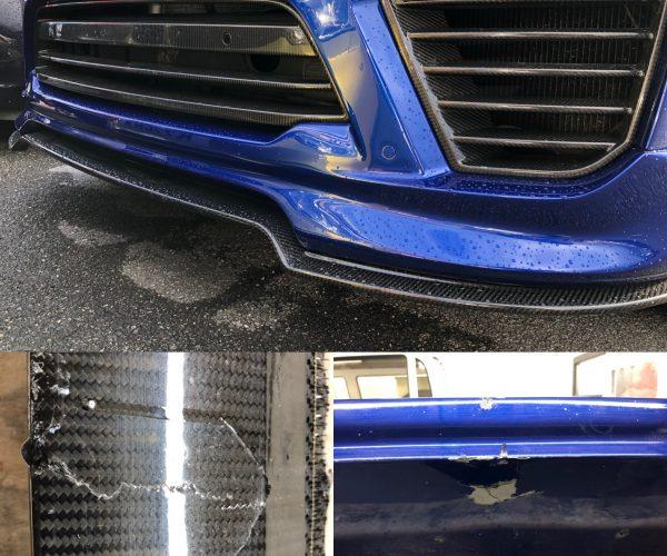 Carbon Fibre Bumper Repair