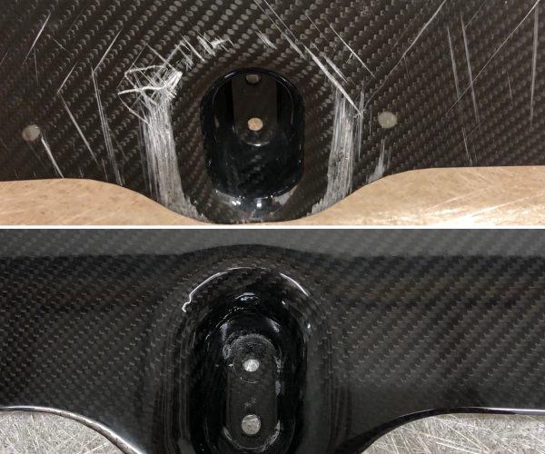 Carbon Fibre Splitter Repair