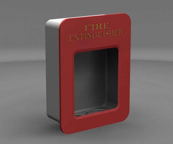 Duel Fire Extinguisher Enclosure Concept