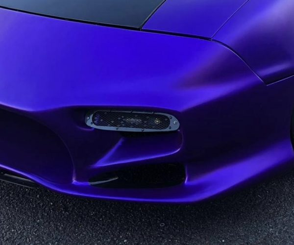 Mazda MX-5 Bumper after repair and Vinyl Wrapping