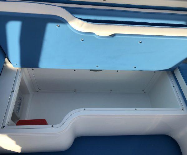 Volkswagen T2 Bay Window Storage within the seat