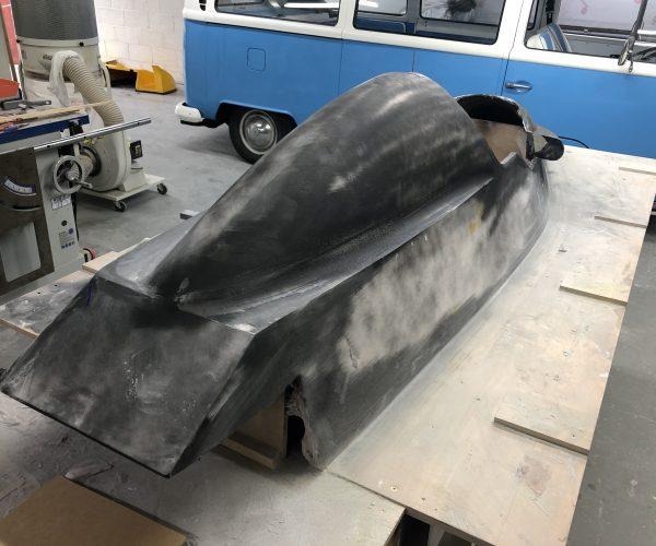Plug for Formula 3 Race Car