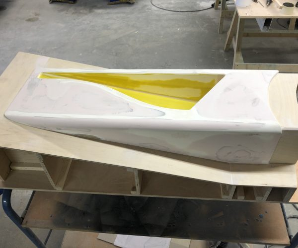 Formula 3 car Side Pod