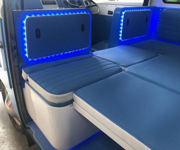 Removable Seat backrests removed
