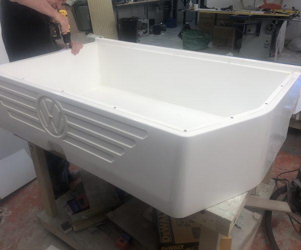 Storage box liner installation