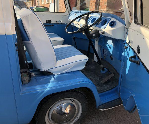 VW T2 Cab interior
