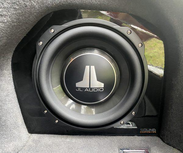 Audi A8 Fibreglass Sub Box